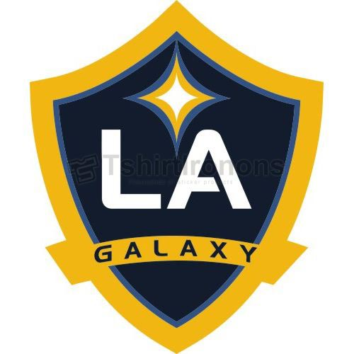 Los Angeles Galaxy T-shirts Iron On Transfers N3387