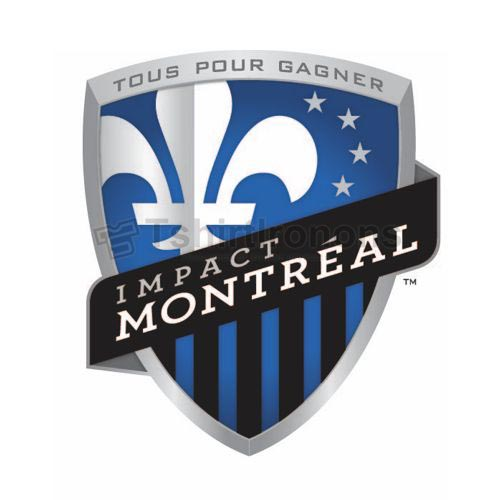 Montreal Impact T-shirts Iron On Transfers N3389