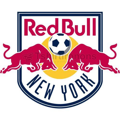 New York Red Bulls T-shirts Iron On Transfers N3391
