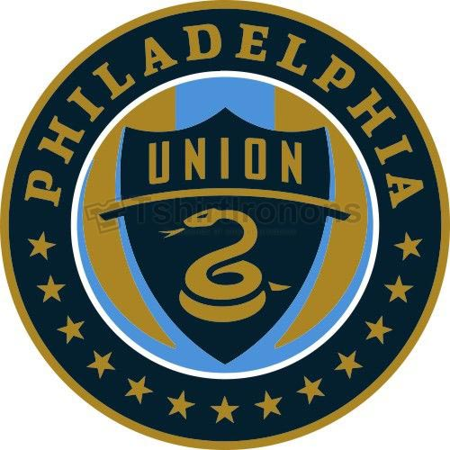 Philadelphia Union T-shirts Iron On Transfers N3392