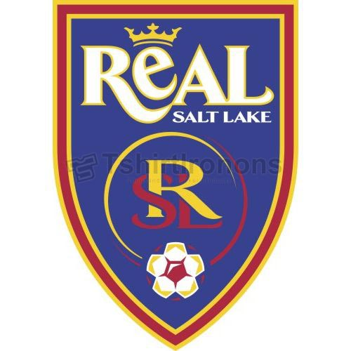 Real Salt Lake T-shirts Iron On Transfers N3394