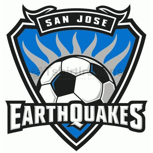 San Jose Earthquakes T-shirts Iron On Transfers N3395