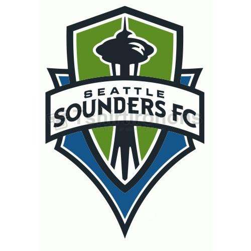 Seattle Sounders FC T-shirts Iron On Transfers N3396