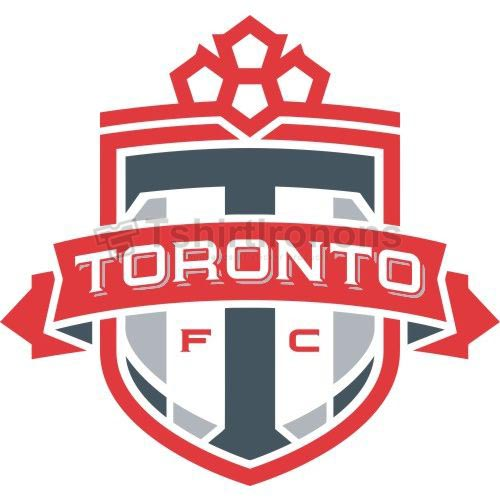 Toronto FC T-shirts Iron On Transfers N3398