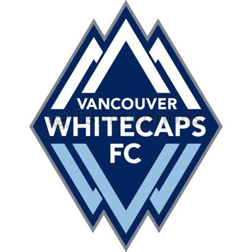 Vancouver Whitecaps FC T-shirts Iron On Transfers N3399
