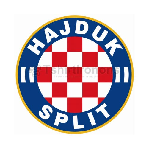 HNK Hajduk Split T-shirts Iron On Transfers N3416
