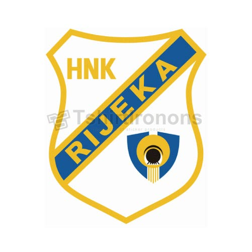 HNK Rijeka T-shirts Iron On Transfers N3417