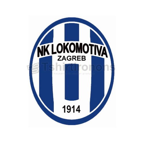 NK Lokomotiva T-shirts Iron On Transfers N3420