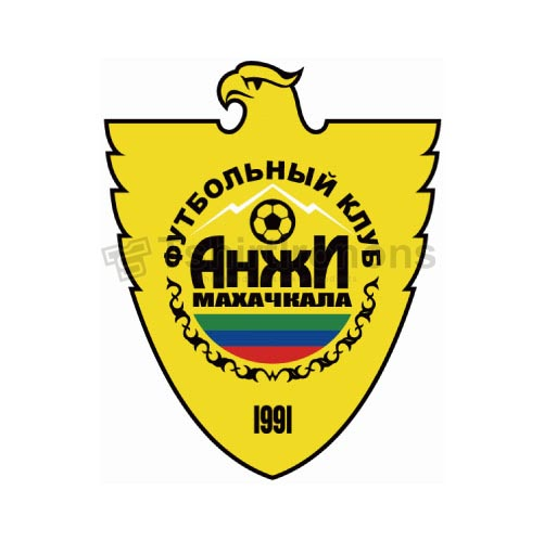 Anzhi Makhachkala T-shirts Iron On Transfers N3429