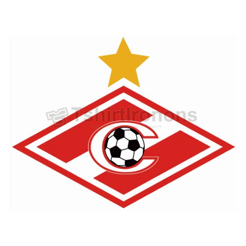 Spartak Moscow T-shirts Iron On Transfers N3440