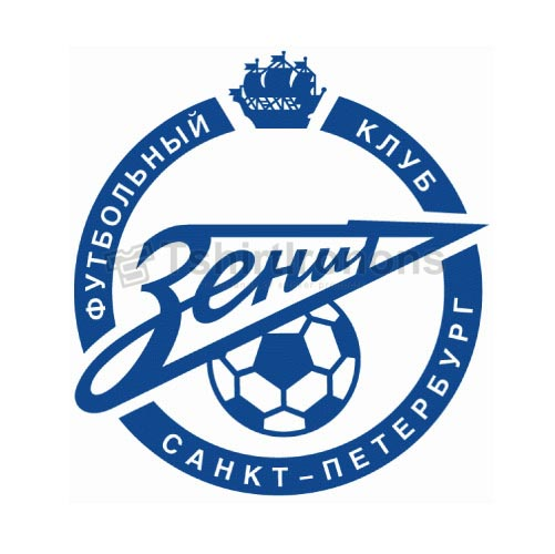 Zenit Saint Petersburg T-shirts Iron On Transfers N3443