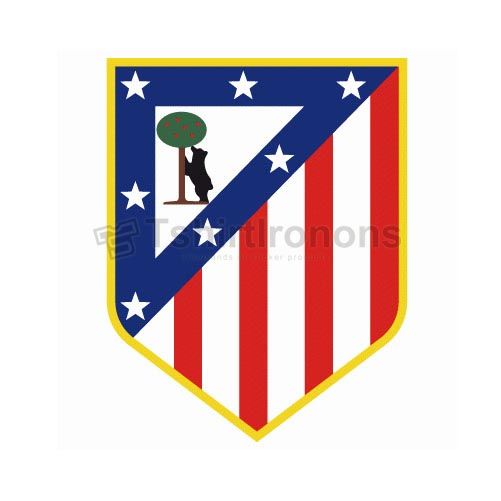 Atletico Madrid T-shirts Iron On Transfers N3445