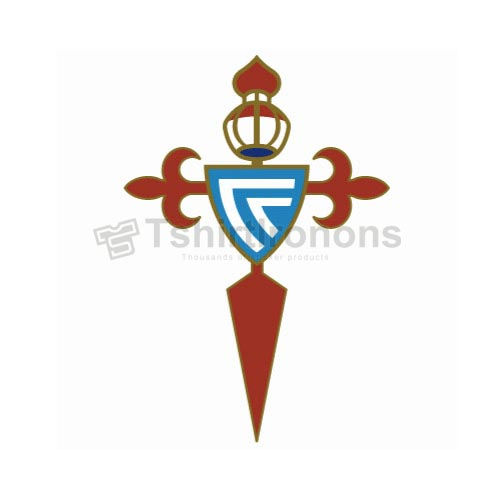 Celta Vigo T-shirts Iron On Transfers N3446