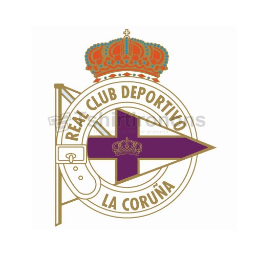 Deportivo La Coruna T-shirts Iron On Transfers N3447