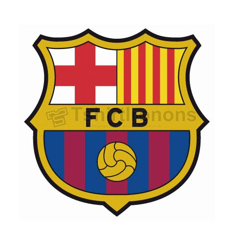 FC Barcelona T-shirts Iron On Transfers N3448