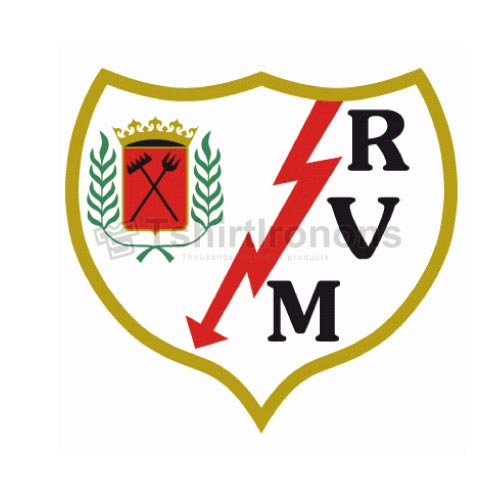 Rayo Vallecano T-shirts Iron On Transfers N3455