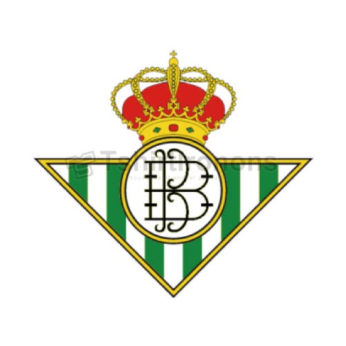 Real Betis T-shirts Iron On Transfers N3456
