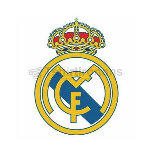 Real Madrid T-shirts Iron On Transfers N3457