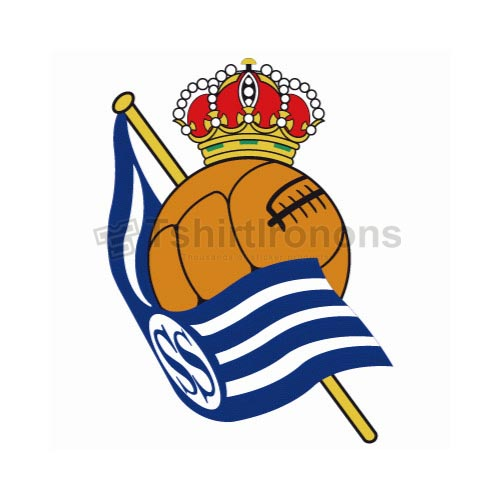 Real Sociedad T-shirts Iron On Transfers N3459