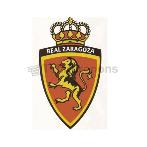 Real Zaragoza T-shirts Iron On Transfers N3461
