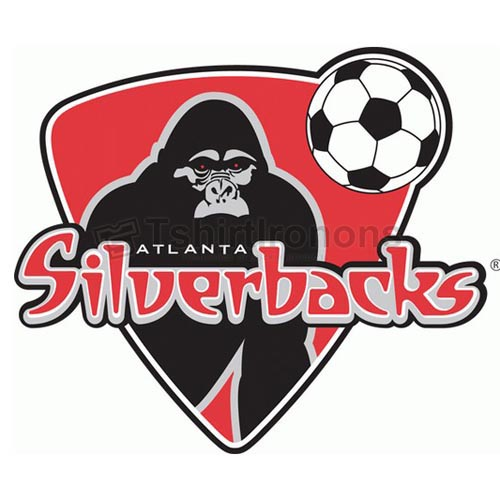 Atlanta Silverbacks T-shirts Iron On Transfers N3483
