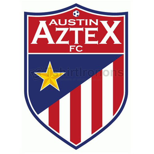 Austin Aztex FC T-shirts Iron On Transfers N3484