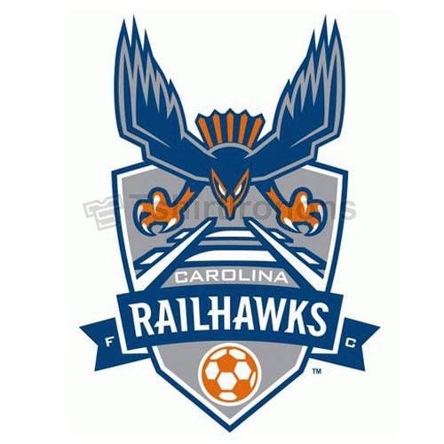 Carolina RailHawks FC T-shirts Iron On Transfers N3485