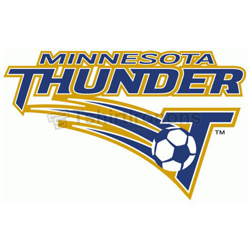 Minnesota Thunder T-shirts Iron On Transfers N3488
