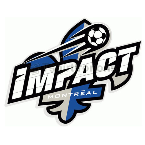 Montreal Impact T-shirts Iron On Transfers N3489