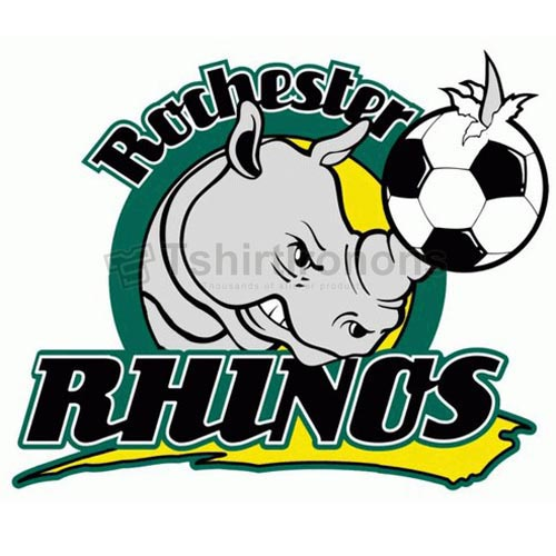 Rochester Rhinos T-shirts Iron On Transfers N3492