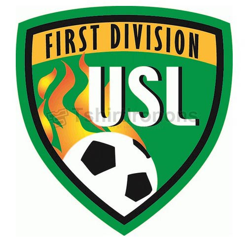 USL First Division T-shirts Iron On Transfers N3494