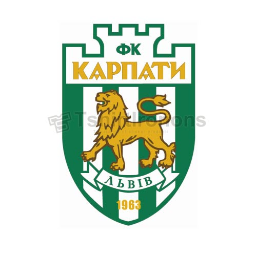 Karpaty Lviv T-shirts Iron On Transfers N3472