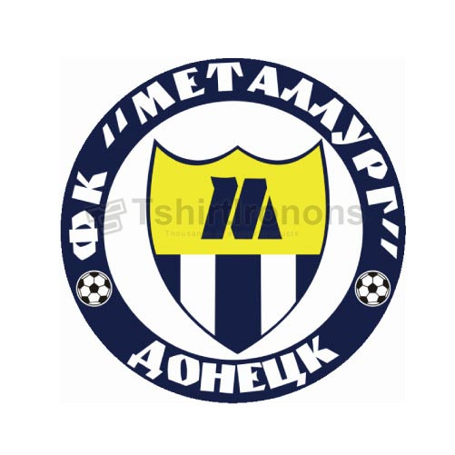 Metalurh Donetsk T-shirts Iron On Transfers N3475
