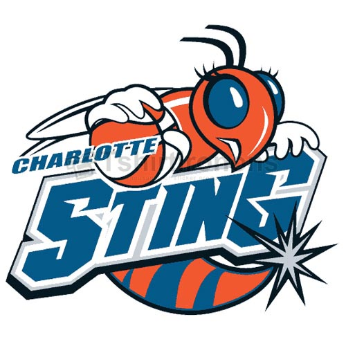 Charlotte Sting T-shirts Iron On Transfers N5660