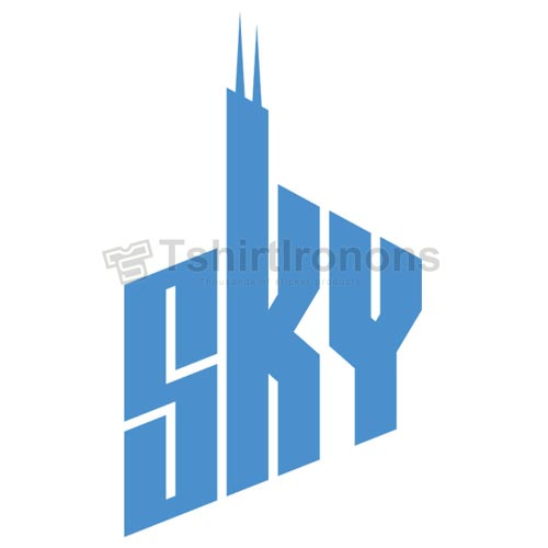 Chicago Sky T-shirts Iron On Transfers N5664