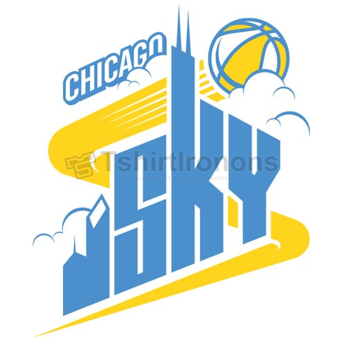 Chicago Sky T-shirts Iron On Transfers N5666