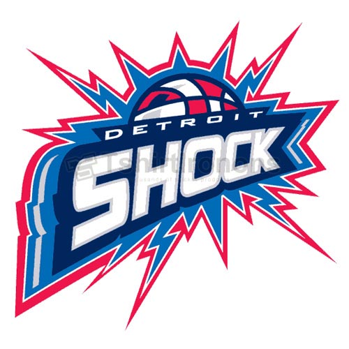 Detroit Shock T-shirts Iron On Transfers N5673