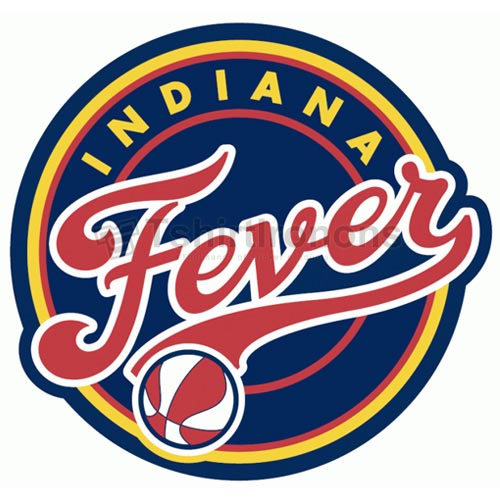 Indiana Fever T-shirts Iron On Transfers N5677