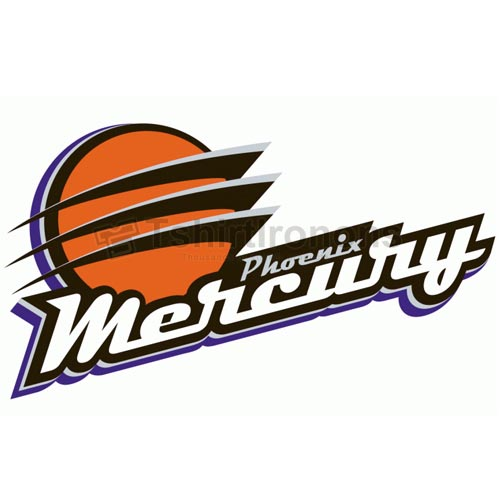 Phoenix Mercury T-shirts Iron On Transfers N5688