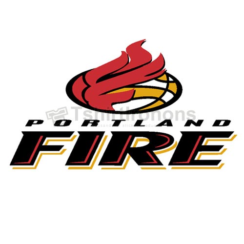 Portland Fire T-shirts Iron On Transfers N5693