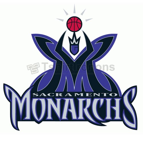 Sacramento Monarchs T-shirts Iron On Transfers N5694