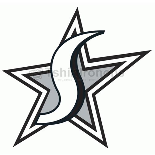 San Antonio Silver Stars T-shirts Iron On Transfers N5696