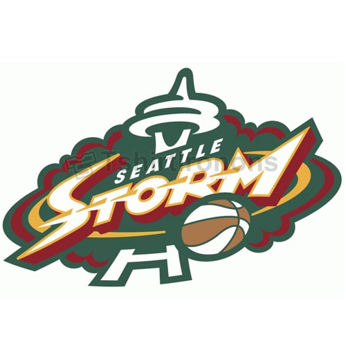 Seattle Storm T-shirts Iron On Transfers N5698