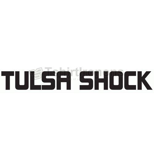 Tulsa Shock T-shirts Iron On Transfers N5702