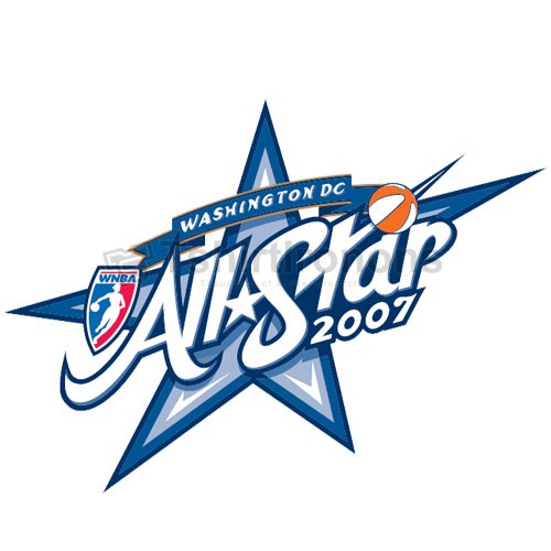 WNBA All Star Game T-shirts Iron On Transfers N5711