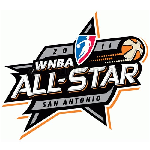 WNBA All Star Game T-shirts Iron On Transfers N5712