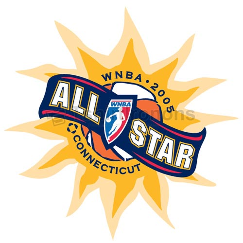 WNBA All Star Game T-shirts Iron On Transfers N5713