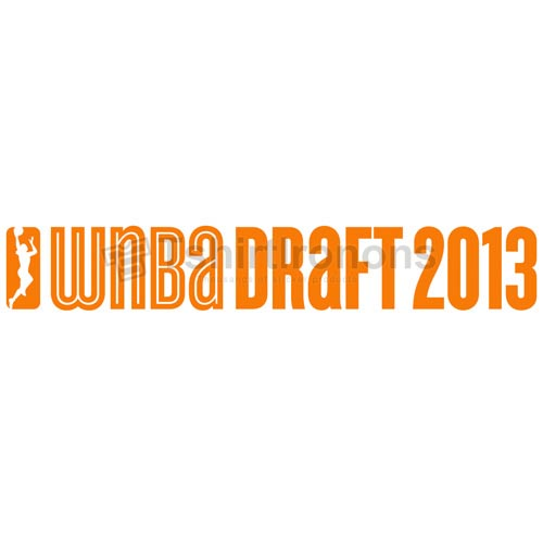 WNBA Draft T-shirts Iron On Transfers N5714