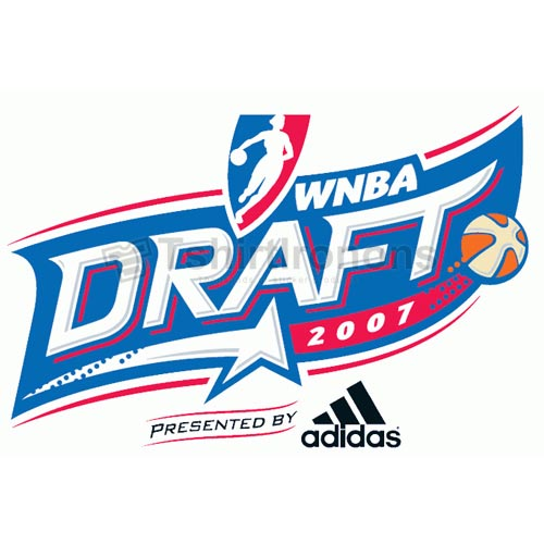 WNBA Draft T-shirts Iron On Transfers N5716