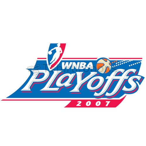 WNBA Playoffs T-shirts Iron On Transfers N5724